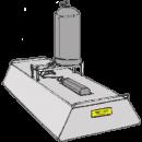 Tjältiningskassett, gasoldriven